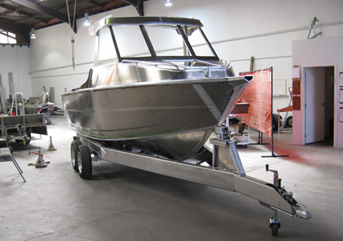 Alloy Solutions Boat Builders Opua
